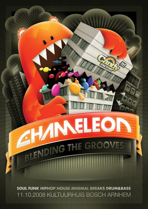 24_Chameleon - Candy Factory Flyer