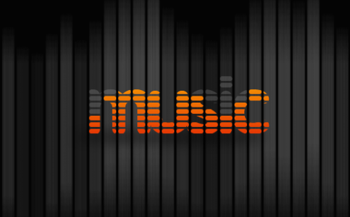 36_Music Equalizer Text Effect