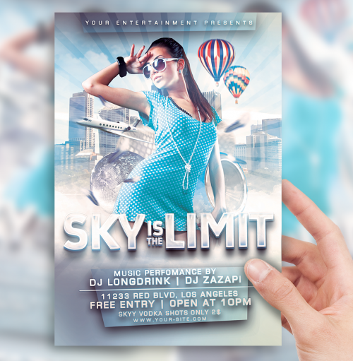 42_Sky Is The Limit Flyer