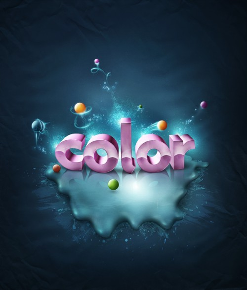 6_Add Fantastic Color to 3D Text
