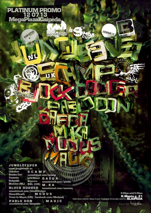6_DREADLOCK Flyer (Jungle-mess) B-Side