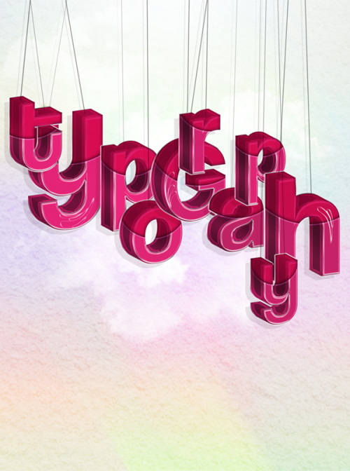 8_Hanging Typography in Photoshop and Illustrator