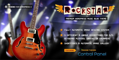 11_Rockstar - Theme for Music Bands