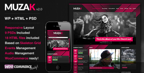 5_Muzak - Music Premium WordPress Theme