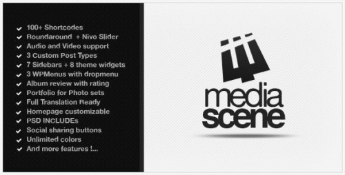 7_MediaScene Music Premium Wordpress Theme