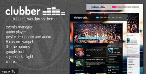 9_Clubber - Events & Music WordPress Theme