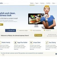 Makalu Business and Portfolio WP Theme