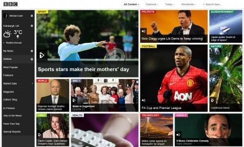 BBC Website Redesign