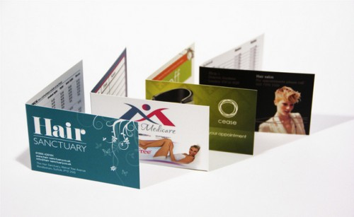 Advantages of Folded Business Cards