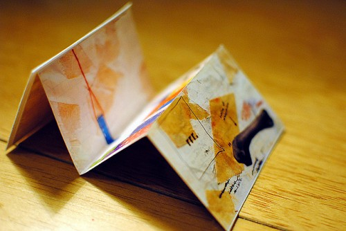 Business Card: Back Accordion Fold