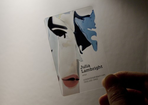Business Card for Julia Lambright