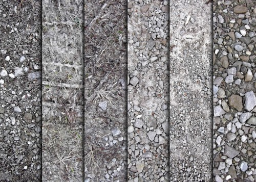 Driveway Rock And Dirt Textures