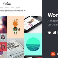 Wonder - Professional WP Portfolio Theme