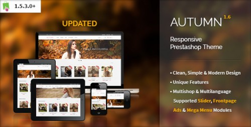 Autumn - Responsive Prestashop Theme