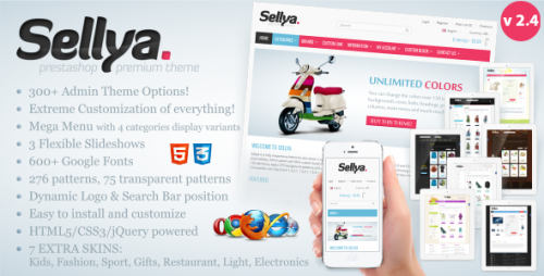 Sellya - Responsive Prestashop Theme