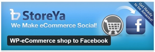 WP-eCommerce shop to Facebook