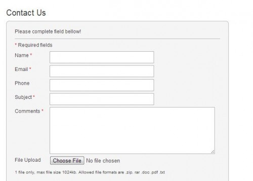Wp Sup Contact Form