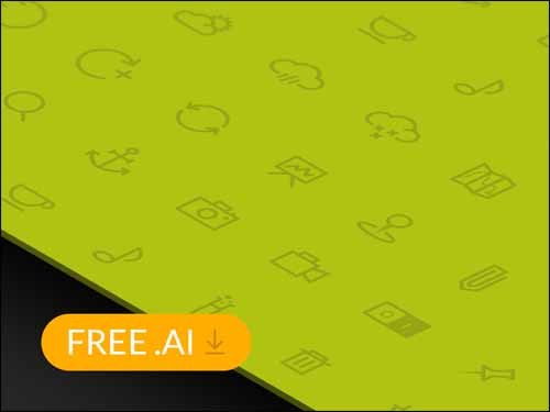 80 Flat Icons for Free Download
