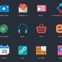 Free Flat Icons for Designers