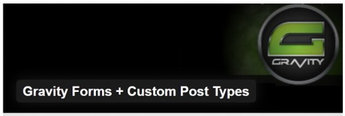 Gravity Forms + Custom Post Types