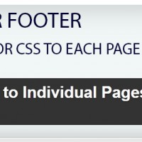 OH Add Script to Individual Pages Header Footer