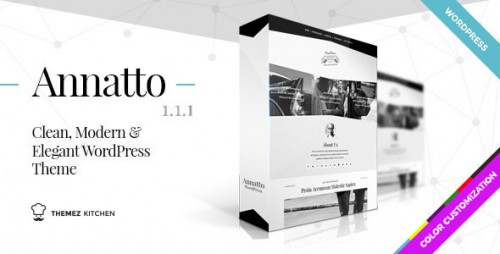 Annatto - Clean and Elegant WordPress Theme