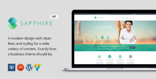 Sapphire - Responsive Business WordPress Theme