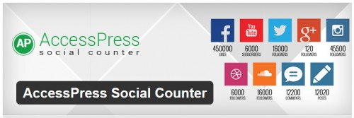 AccessPress Social Counter
