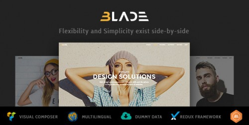 Blade - Responsive Multi-Functional Theme