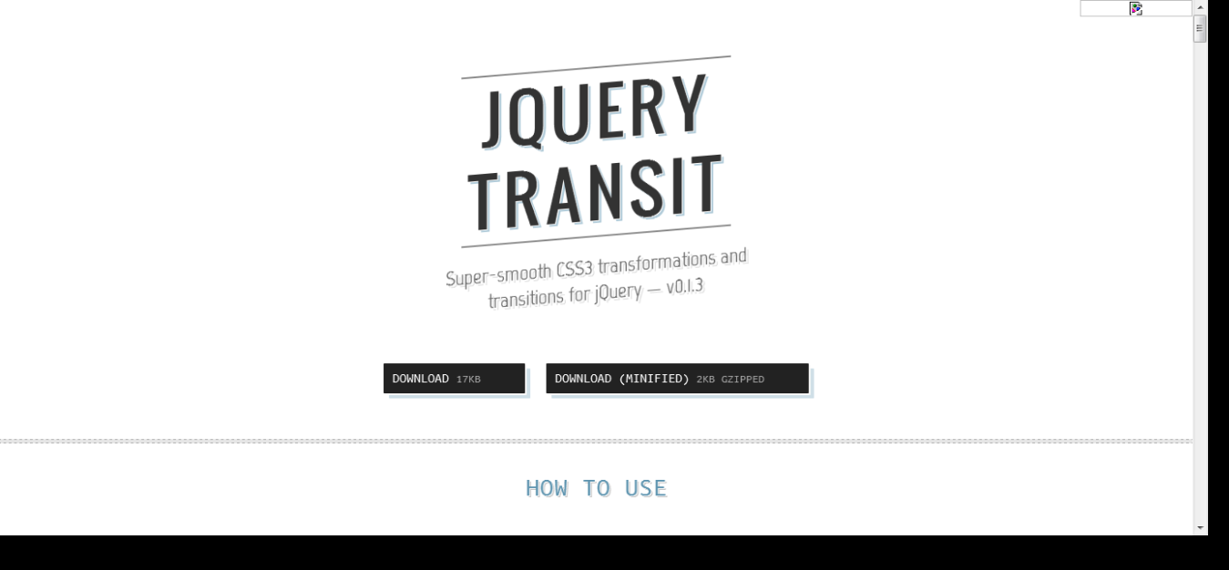 8 Most Useful jQuery Transition Plugins
