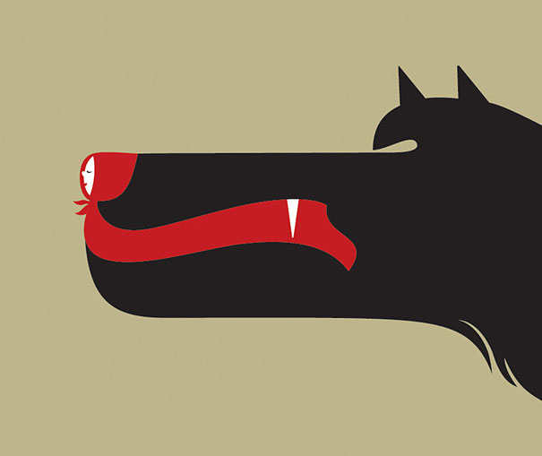 30 Brilliant Negative Space Art By Noma Bar