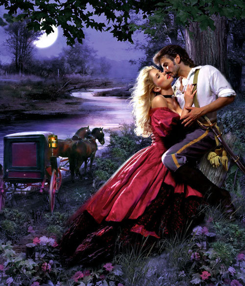 Gorgeous Romance Novel Cover Art - DesignCoral