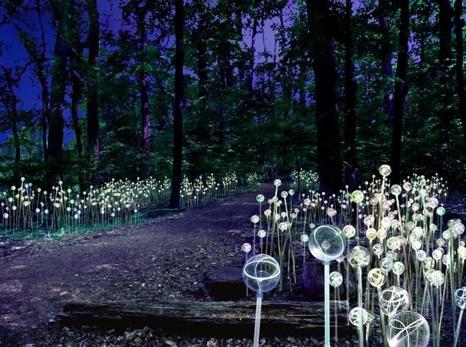 Stunning Light Installations by Bruce Munro