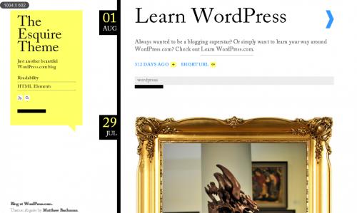 10款简约风格的免费WordPress Thems