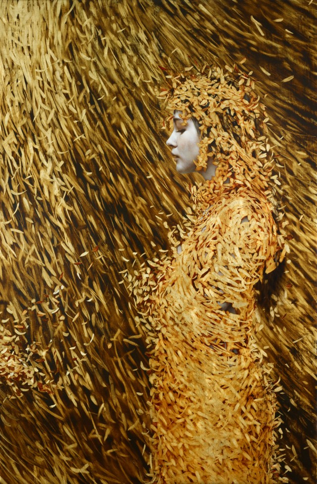 Extraordinary Leaf Paintings by Brad Kunkle