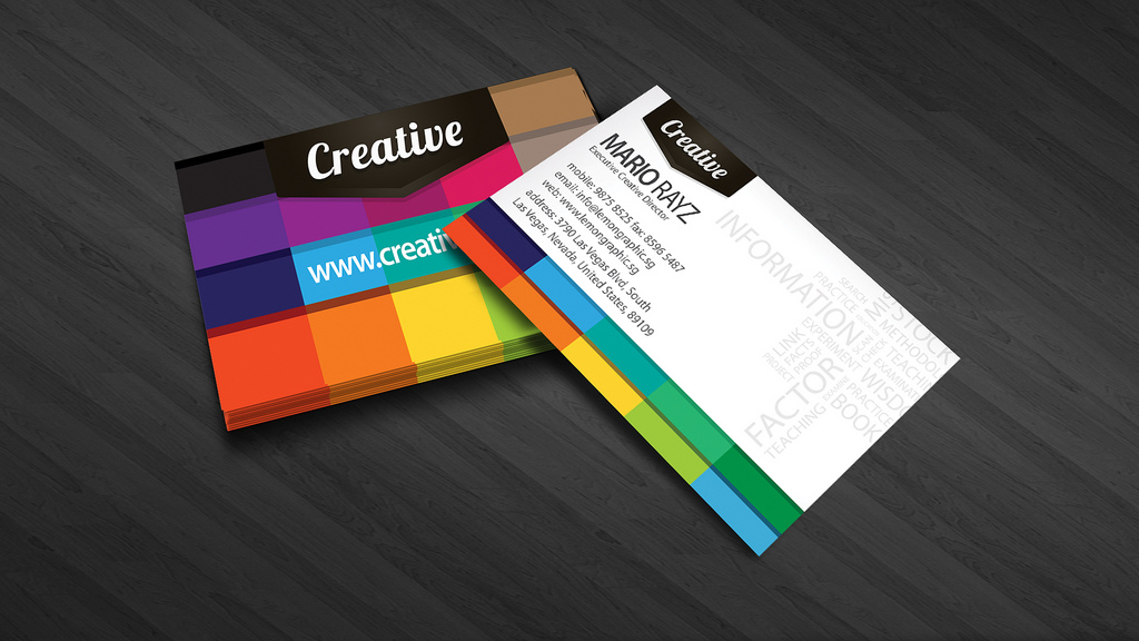 20+ Innovative and Creative Business Card Designs - DesignCoral