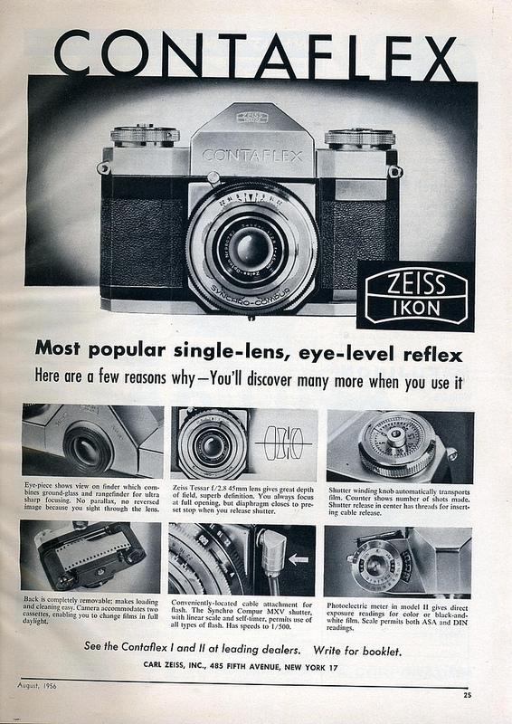 40 Vintage Camera Ads