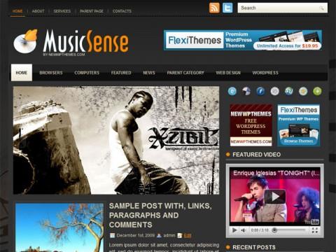 12 Free Music WordPress Themes