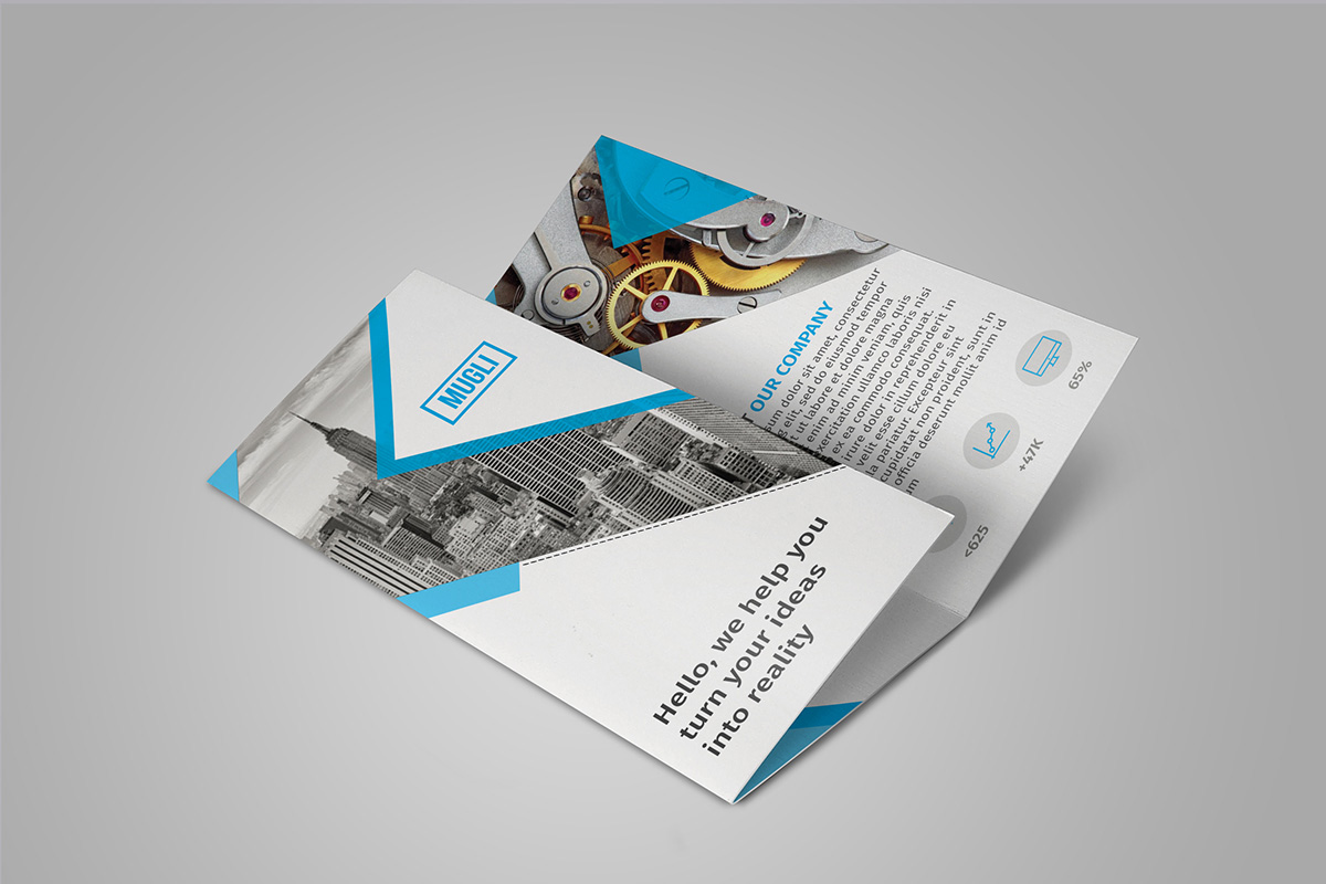 25 Creative Examples Of Brochure Design Ideas Designcoral
