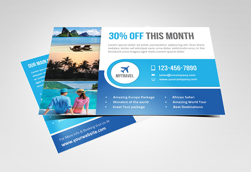 multipurpose marketing postcard - Postcard Design Ideas