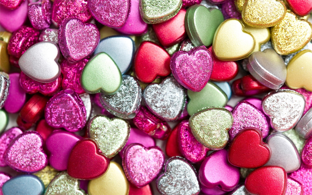 Colorful Heart Shaped Wallpapers for Desktop