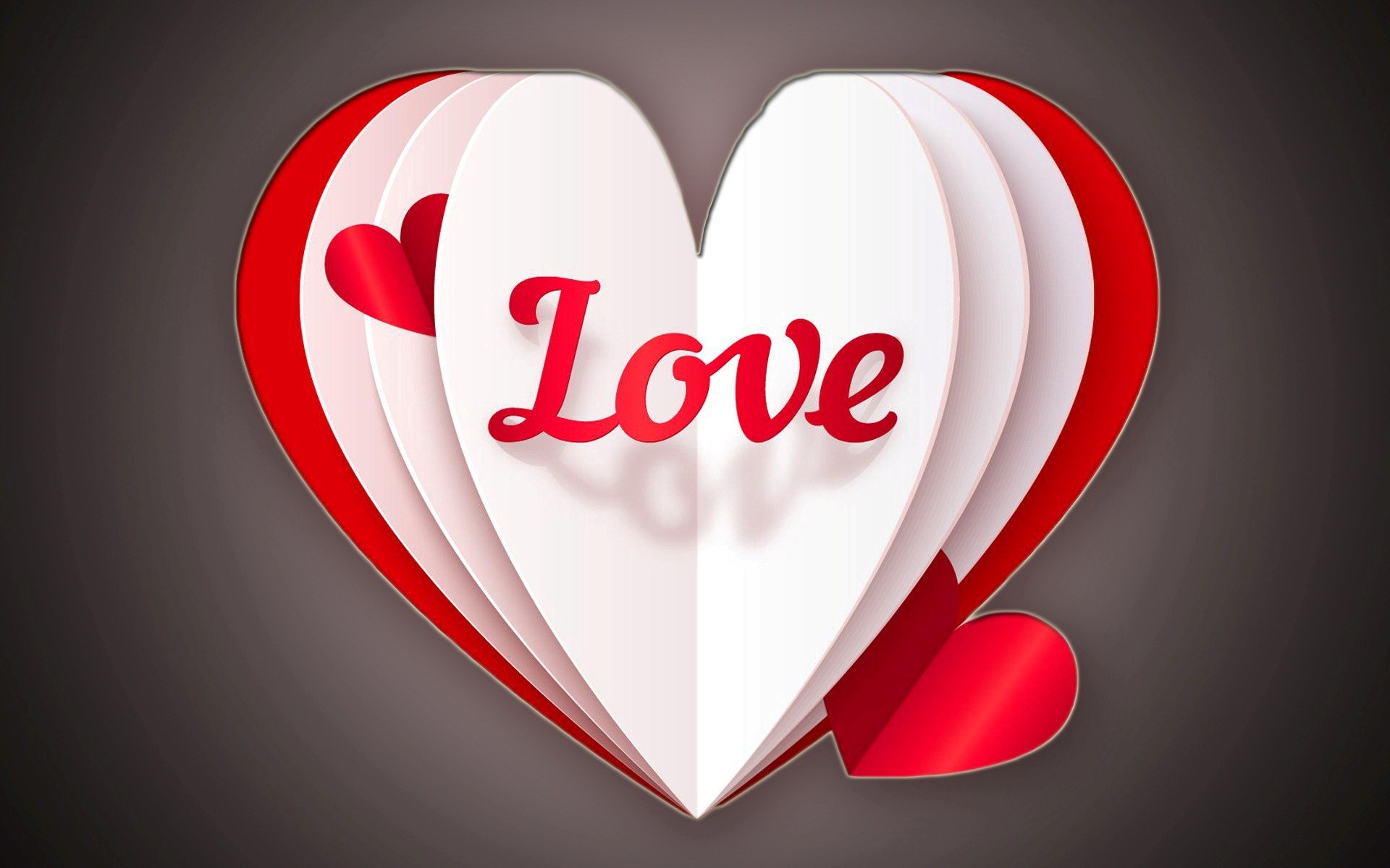 photo collection wallpaper heart love