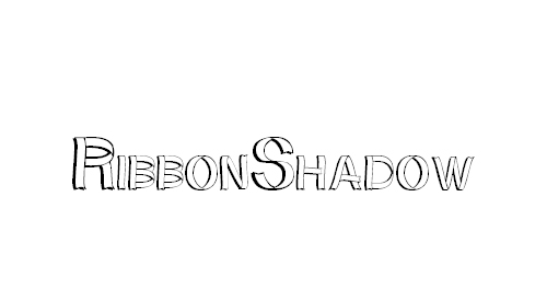 RibbonShadow Font
