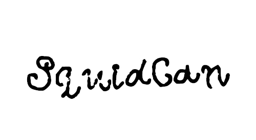 SquidCan Font