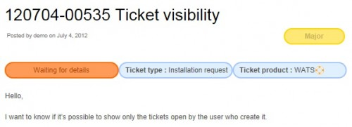 WordPress Advanced Ticket System