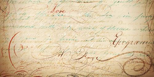 9 Vintage Script Free Brushes