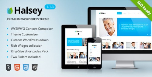 Halsey - Ultimate Business WP Theme