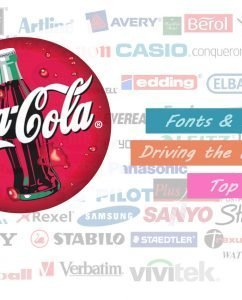 Ten Ways Fonts & Logos Driving the World's Top Brands