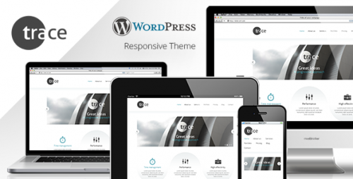 Trace - WordPress Responsive Theme