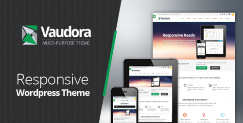 Vaudora Premium WordPress Theme